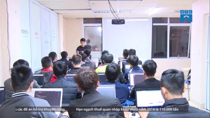 Đài truyền hình VTC đưa tin về công ty DevPro Việt Nam: Phát triển nguồn nhân lực cho ngành công nghệ thông tin Thời kỳ 4.0