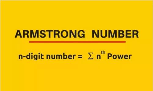 Kiến thức về số Armstrong trong C
